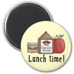 Mittagessen-Zeit Magnete