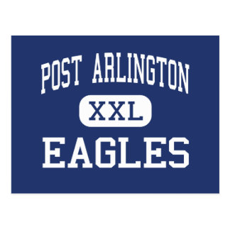 Mitte Arlington Posten-Arlingtons Eagles Postkarte