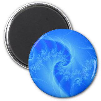 Mitte des Blues-Magneten Runder Magnet 5,1 Cm