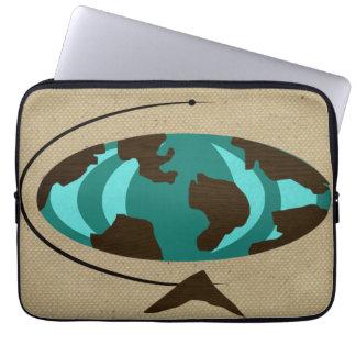 Mitte- des Jahrhundertsmoderne Laptop Sleeve