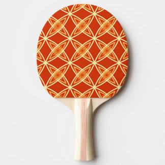 Mitte- des Jahrhundertsmoderner Atomdruck - Tischtennis Schläger
