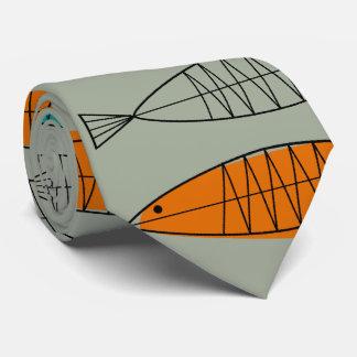 Mitte- des Jahrhundertsmodernes Krawatte