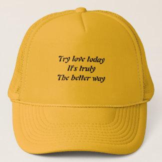 Mitteilung der Liebe Truckerkappe