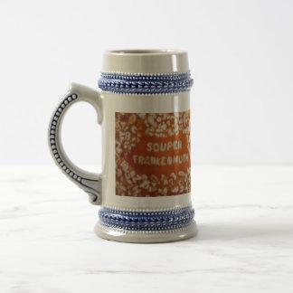 Mitteilung in meiner Suppe: Frankenmuth Bier Stein Bierkrug