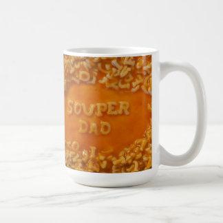 Mitteilung in meiner Suppe: Vati-Tasse Tasse