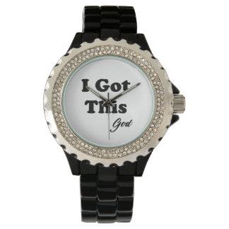Mitteilung vom Gott Armbanduhr