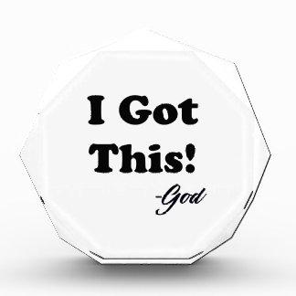 Mitteilung vom Gott Auszeichnung