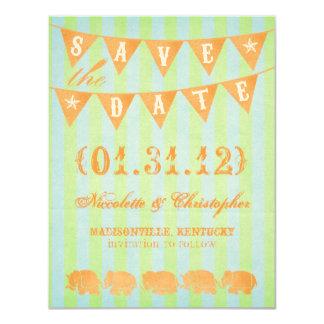 Mitteilungen Baileys Save the Date 10,8 X 14 Cm Einladungskarte