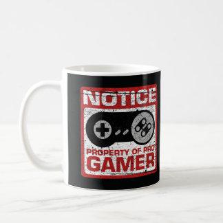 Mitteilungs-Eigentum von ProGamer Kaffeetasse