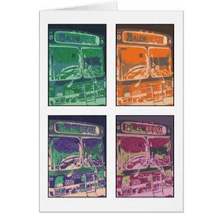 """Mitteilungskarten """"des Bus-#79"""" Karte"""