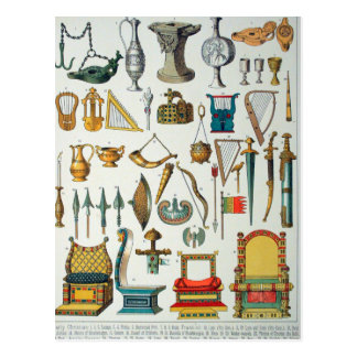 Mittelalter Postkarte