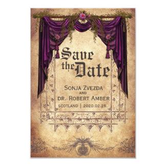 Mittelalterlich Save the Date Wedding Einladung