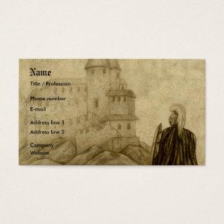 Mittelalterlich Visitenkarte