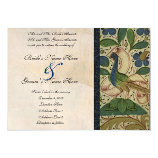 Mittelalterliche 12,7 X 17,8 Cm Einladungskarte
