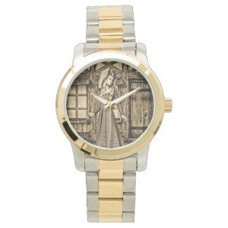 Mittelalterliche Dame Armbanduhr