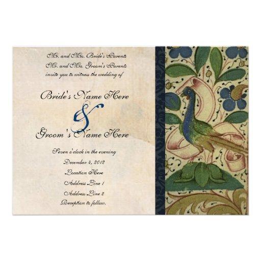 Mittelalterliche Einladung