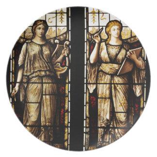 Mittelalterliche Kunst Teller
