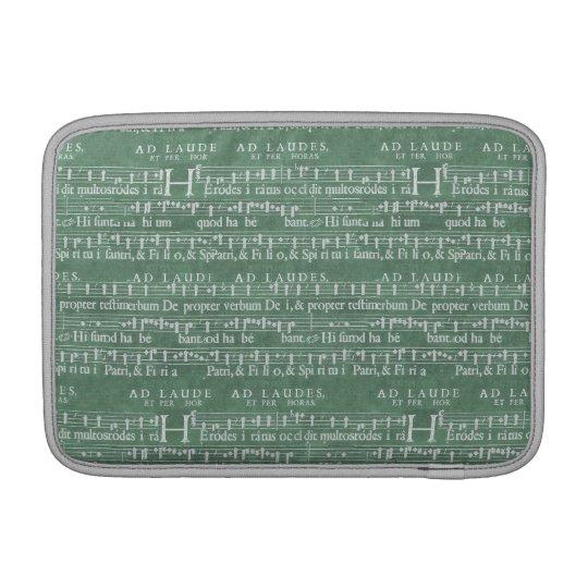 """Mittelalterliche Musik-Manuskript Macbook Luft 11"""" Sleeves Fürs MacBook Air"""