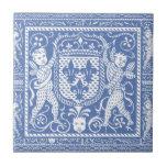 Mittelalterliche Renaissance-blaue und weiße Engel Fliesen