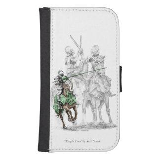 Mittelalterliche Renaissance-Ritter Samsung S4 Geldbeutel Hülle