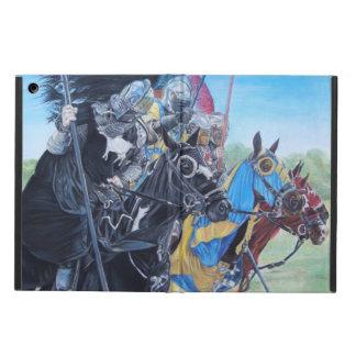 mittelalterliche Ritter, die auf