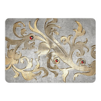 mittelalterliche Rüstung des Ritterturniers 12,7 X 17,8 Cm Einladungskarte
