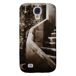 Mittelalterliche Schloss-Treppe von Cardiff Wales Galaxy S4 Hülle