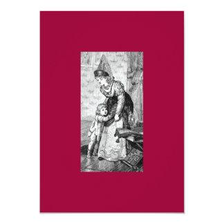 Mittelalterliche Zeit-Einladung 12,7 X 17,8 Cm Einladungskarte