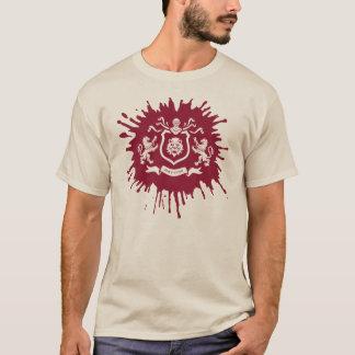 Mittelalterlicher heraldischer Blazon im T-Shirt