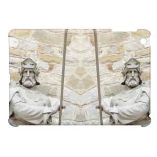 Mittelalterlicher Hintergrund mit Ritter in der iPad Mini Hülle