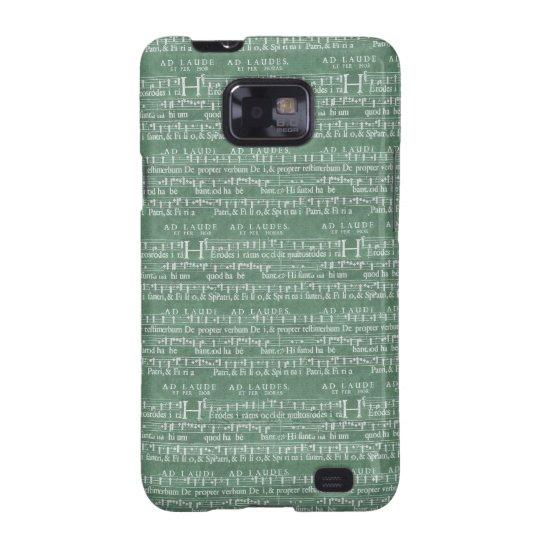 Mittelalterlicher Kasten Samsung Galaxy SII Hülle