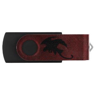 Mittelalterlicher Vintager Fantasie-Drache USB Stick