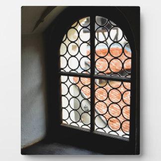 Mittelalterliches Fenster Fotoplatte