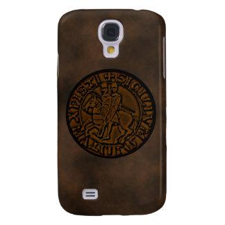 Mittelalterliches Siegel der Ritter Templar Galaxy S4 Hülle