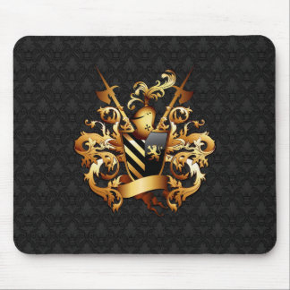 Mittelalterliches Wappen 2 Mausunterlage Mousepad