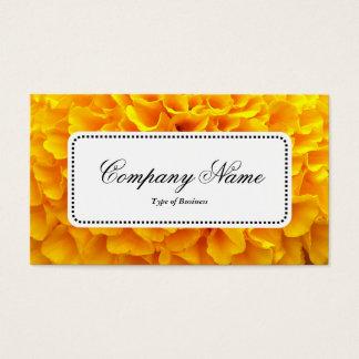 Mittelaufkleber v5 - Chrysantheme Visitenkarte