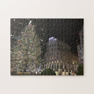 Mittelbaum New- YorkweihnachtenNYC Rockefeller Puzzle