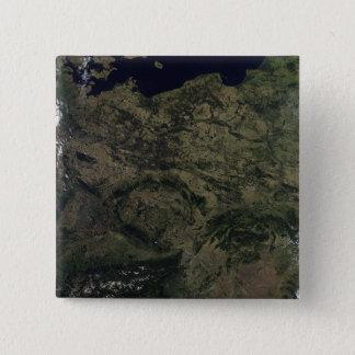Mitteleuropa Quadratischer Button 5,1 Cm