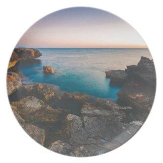 Mittelmeer Melaminteller