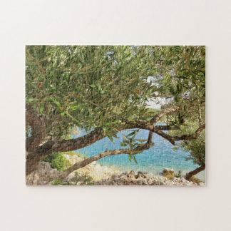 Mittelmeer-Olivenbaum Puzzle