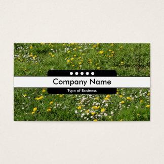 Mittelstellen des band-5 - Wiesen-Blumen Visitenkarte