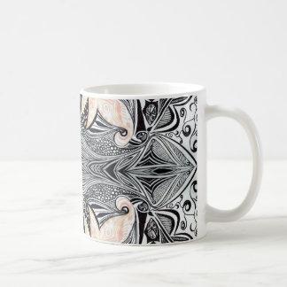 Mitternacht Bloom3 Kaffeetasse
