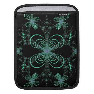 Mitternachtsleuchtkäfer-Ballett-Fraktal Sleeve Für iPads