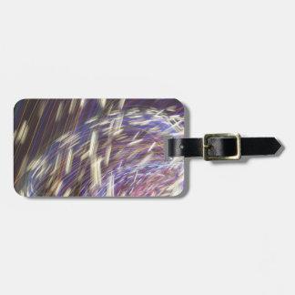 Mitternachtssymphonie-Gepäckanhänger mit Lederband Kofferanhänger