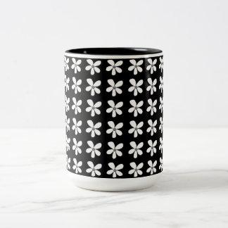 Mittler-Nacht-Schwarz-Podium-Kaffee-Reise-Tassen Zweifarbige Tasse
