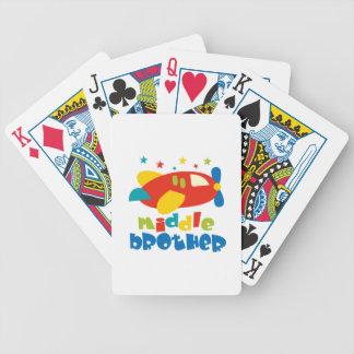 Mittlere Bruder-Plan-Sterne Poker Karten