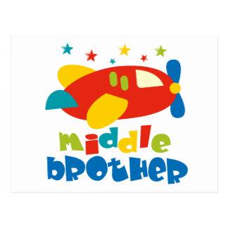 Mittlere Bruder-Plan-Sterne Postkarten