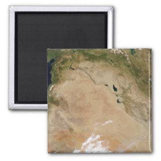 Mittlere Osten 2 Quadratischer Magnet