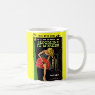 mittlerer Fünfzigerjahre Bloodline, zum der Kaffeetasse