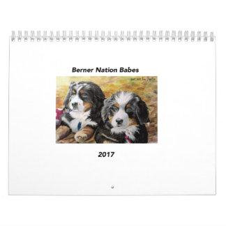 Mittlerer Kalender der Berner Nations-Babys 2017